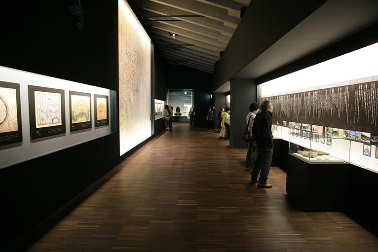 高知城歴史博物館の内部