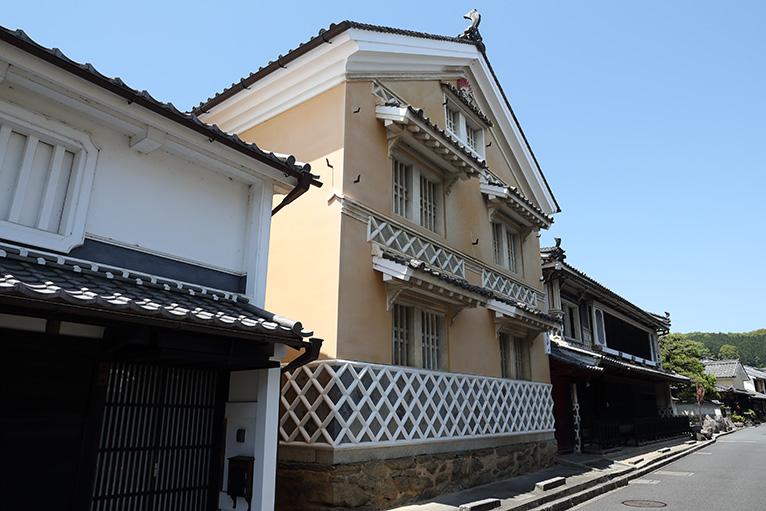 本芳我と大村家住宅、美しい町並み