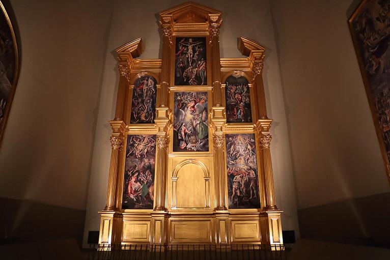 グレコ「エル・グレコの祭壇衝立復元」、現存しない祭壇衝立を原寸大で再現した世界初の試み
