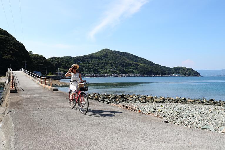 3つの島を結ぶサイクリングロード